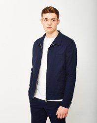 Gant Rugger Textured Shirt Jacket Blue