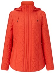 Four Seasons Quilted Jacket Watermelon