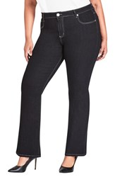 City Chic Plus Size Black Jeans