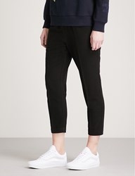 Izzue Skinny Fit Woven Trousers Black Bkx