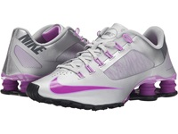 Nike Shox Superfly R4 Metallic Silver Fuchsia Glow Dark Grey Vivid Purple Women's Cross Training Shoes