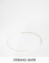 Asos Limited Edition Sterling Silver Fine Cuff Bracelet