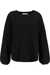 Goat Wolf Cashmere Sweater Black