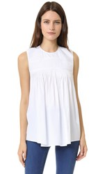 N 21 Sleeveless Top White