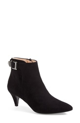 Aquatalia By Marvin K 'Sabina' Weatherproof Pointy Toe Ankle Boot Women Black Suede