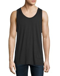 Alexander Wang Sleeveless Scoop Neck Tank Black