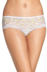 Calvin Klein Women's Marquisette Hipster Panty Dynamical Leopard