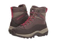 Merrell Thermo Chill 6 Shell Waterproof Bracken Hiking Boots Brown