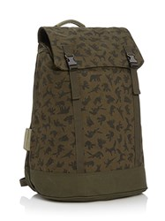C6 Small Backpack In Christopher Raeburn Canvas Brown