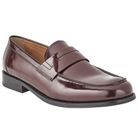 John Lewis Anderson Loafers Oxblood