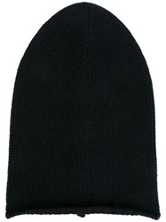 Kristensen Du Nord Long Knitted Beanie Blue