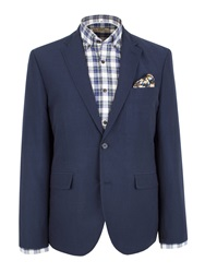 Gibson N Acasual Button Blazer Navy