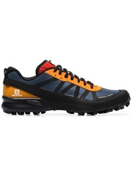 District Vision X Salomon S Lab Mountain Racer Red And Yellow Sneakers Multicoloured