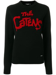 Dsquared2 The Catens Knitted Jumper Black