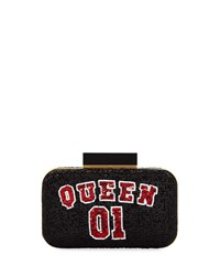 Alice Olivia Shirley Queen 01 Beaded Clutch Bag Multi Pattern