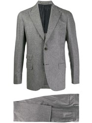 Eleventy Two Piece Formal Suit Grey