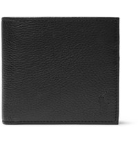 Polo Ralph Lauren Full Grain Leather Billfold Wallet Black