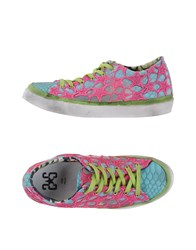 2Star Footwear Low Tops And Trainers Women Fuchsia
