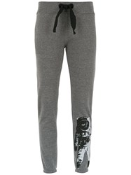 Andrea Bogosian Printed Sweatpants Grey