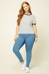 Forever 21 Plus Size Mid Rise Jeggings