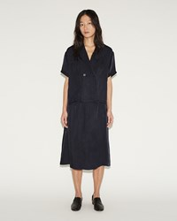 Moderne New Slip Skirt Navy