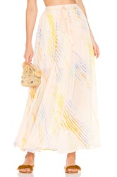 Free People True To You Maxi Skirt White
