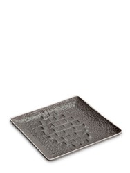 L'objet Crocodile Porcelain Square Tray