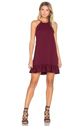 Amanda Uprichard Shalyn Dress Wine