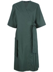 Sofie D'hoore Belted Wrap Dress Green