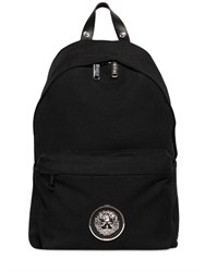 Versus Lion Head Cotton Canvas Backpack