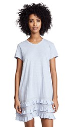 Wilt Tee Dress With Lace Ruffle Trim Peri