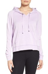 Make Model Women's Easy Going Hoodie Purple Bloom