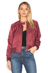 Free People Midnight Bomber Burgundy