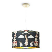 Mindthegap The Great Show Drum Lamp Shade Multi