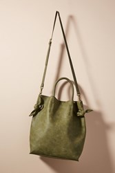Anthropologie Boe Tote Bag Moss