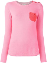 Chinti And Parker One Pocket Jumper Pink Purple