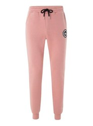 Hype Pink Crest Joggers