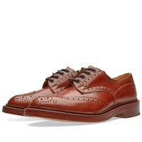 Trickers Tricker's Bourton Derby Brogue Marron Antique