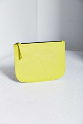 Urban Outfitters Saffiano Large Pouch Green