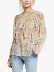 And Or Indienne Jojo Floral Blouse Multi