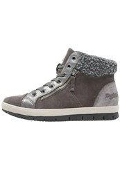 Dockers By Gerli Hightop Trainers Dunkelgrau Dark Grey