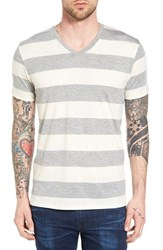 The Rail Men's Stripe V Neck T Shirt