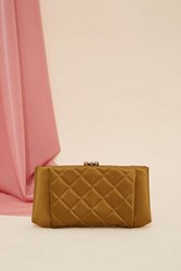 Vintage Chanel Quilted Satin Wallet