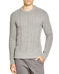 Jack Spade Pollock Ribbed Sweater Light Grey
