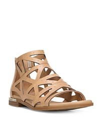Fergie Crazy Leather Cutout Sandals