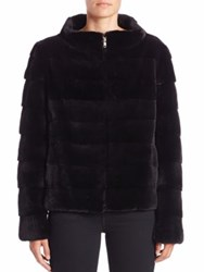 Michael Kors Horizontal Mink Fur Jacket