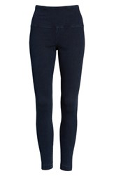 Lysse High Waist Denim Leggings Indigo