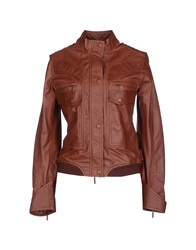 Piquadro Jackets Brown