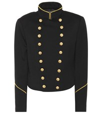Polo Ralph Lauren Wool Military Jacket Black