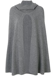 Le Kasha Madison Cape Cashmere Grey